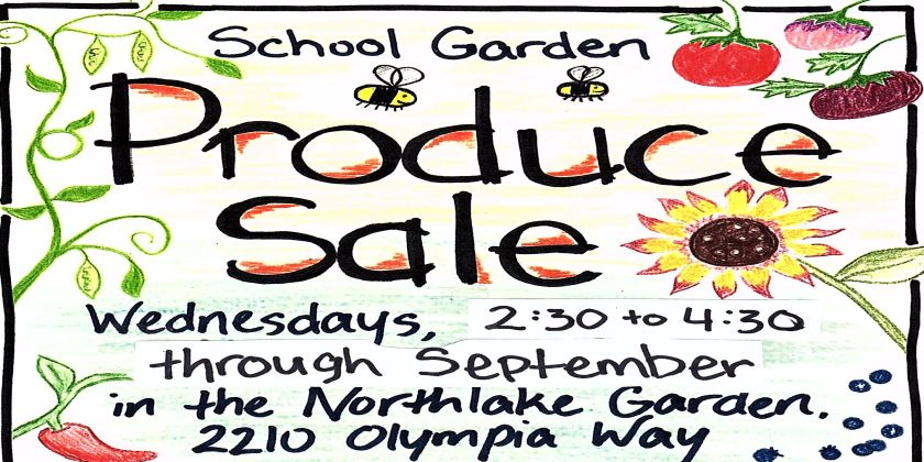 link to the blog post of the Produce Sale